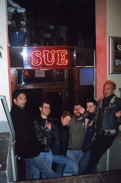 philly crew at sue's